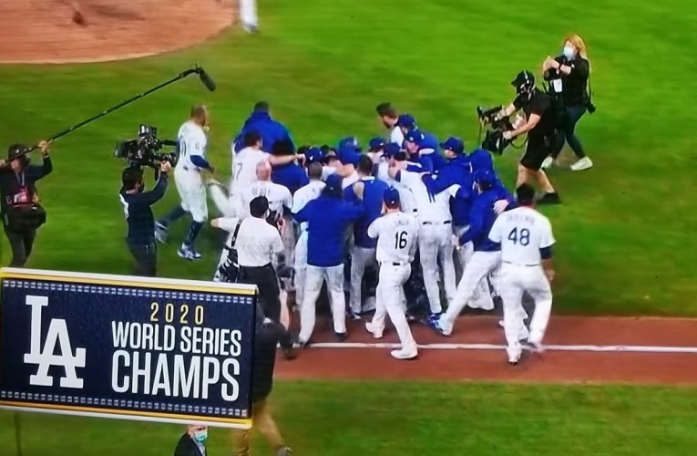 Los Angeles Dodgers World Series Champs After 32 Year Drought By Joseph Armendariz