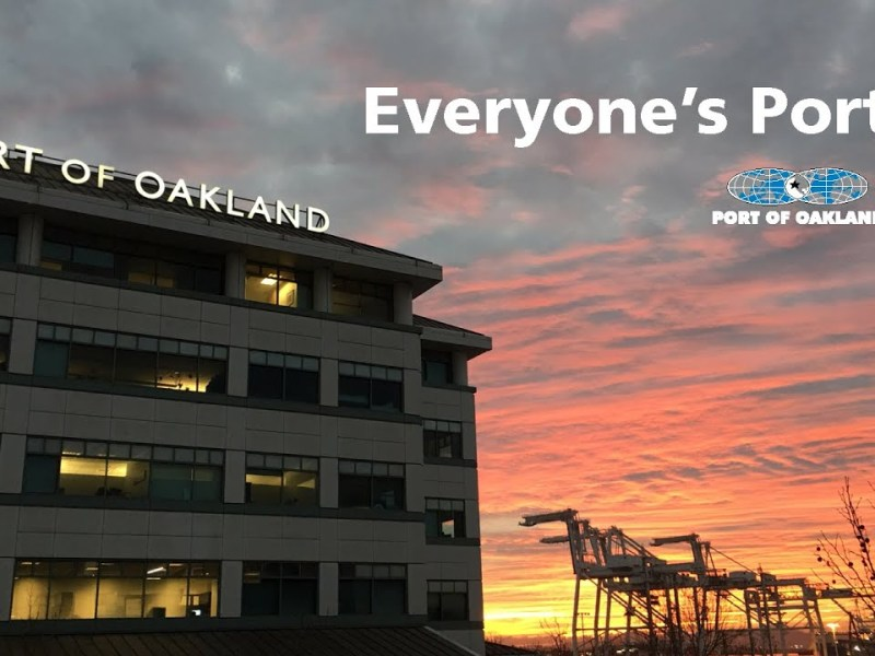 Port of Oakland 1927 to 2020