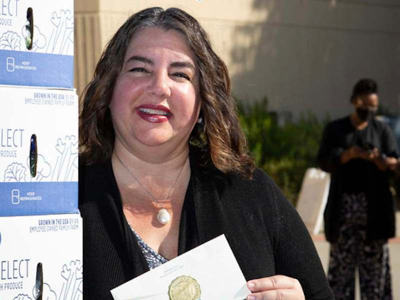 College of Alameda Vice President Honored for Free Food Program During Covid-19