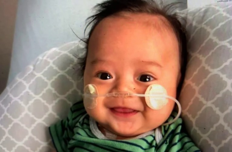 Boston DeCastro, 3-Months-Old, Needs Mixed Caucasian – Filipino Stem Cell Donor