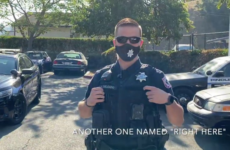 Bay Area Transparency On YouTube Messes With Pinole Police Officer, Gets Detained