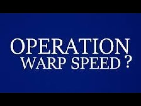 Donald Trump's Operation Warp Speed Press Conference Reaction – By Joseph Armendariz