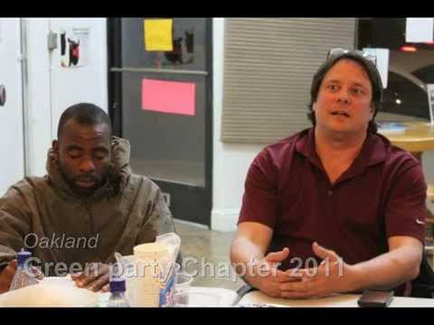 Orlando Johnson YouTube Video On His Run For Mayor In 2010 And Oakland Green Party
