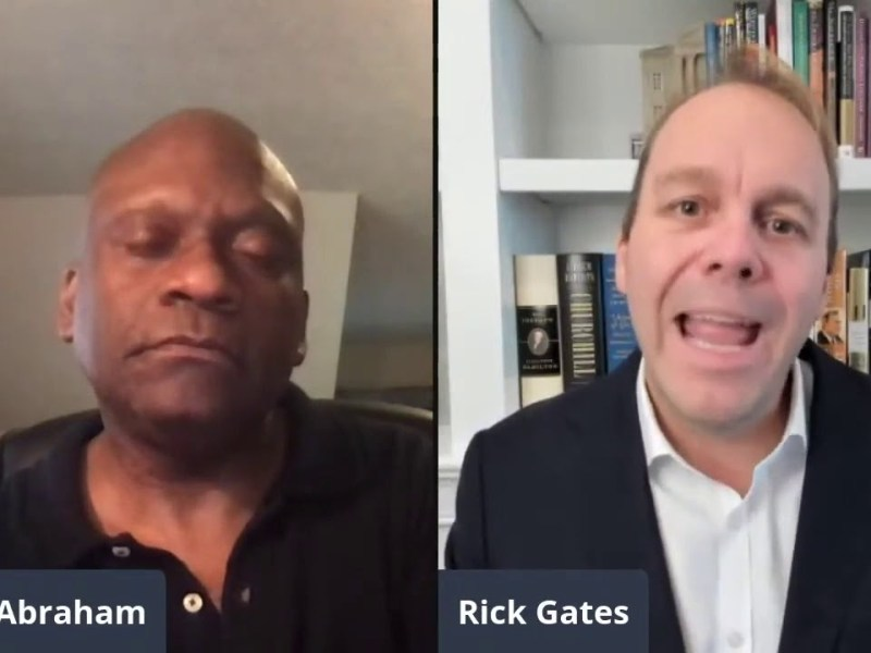 Rick Gates On Donald Trump And The Black Vote In America In 2016, And About Voter Supression Claims