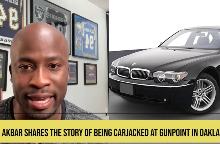 Akbar Gbaja-Biamila Carjacked at Gunpoint in Oakland While An Oakland Raiders Player