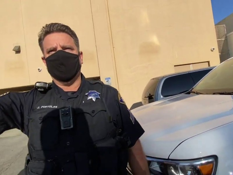 Bay Area Transparency Gets Arrested In South San Francisco In First Amendment Audit