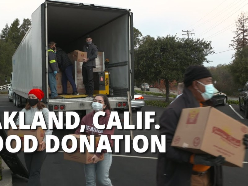 Latter-Day Saints Partner With Oakland Churches to Provide Hunger Relief During COVID-19 Pandemic