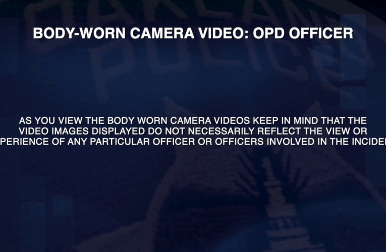 Oakland Police Department Critical Incident Video / Officer-Involved Shooting – November 3, 2020