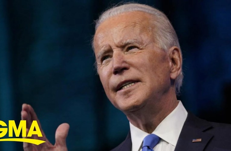 President-Elect Joe Biden Calls For Unity As He Accepts Electoral College Win