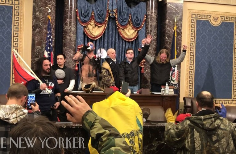 Luke Mogelson Video From Inside The Trump Capitol Siege | The New Yorker