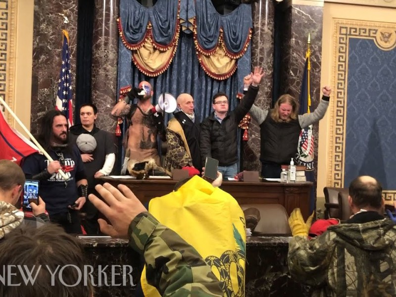 Luke Mogelson Video From Inside The Trump Capitol Siege   The New Yorker