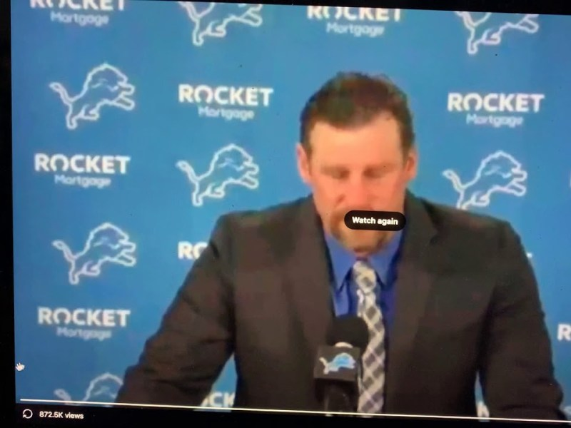 Dan Campbell The Detroit Lions New Head Coach Is Tony Soprano And Will Take Out Your Kneecaps