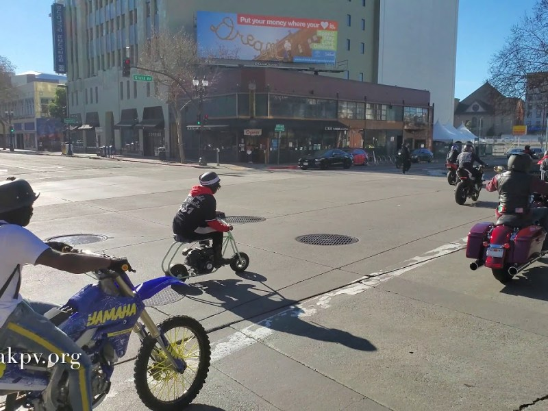 The Sounds Of Oakland: Moto Sideshow Tribute