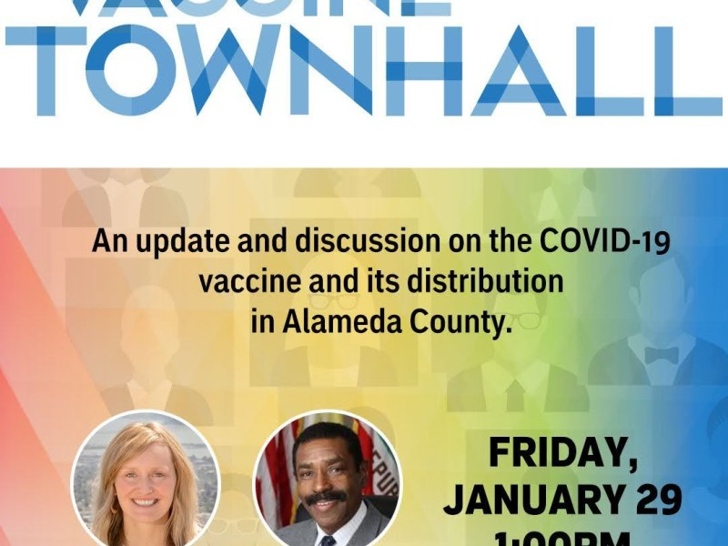 Alameda County Supervisor Keith Carson Vaccine Town Hall With Assemblymember Buffy Wicks