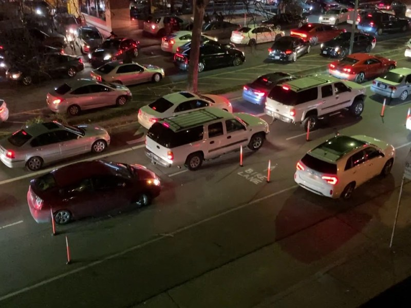 Sunday Morning Downtown Oakland Sideshow Features Gun Shots, Large Crowds