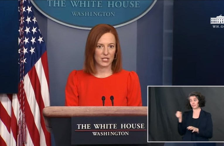 Press Briefing By Biden Press Secretary Jen Psaki, Secretary Of Transportation Pete Buttigieg April 9, 2021