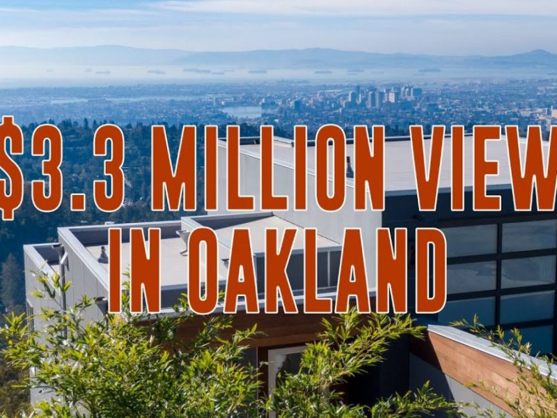 $3 Million – A Cinematic Oakland Hills Real Estate Property With a View