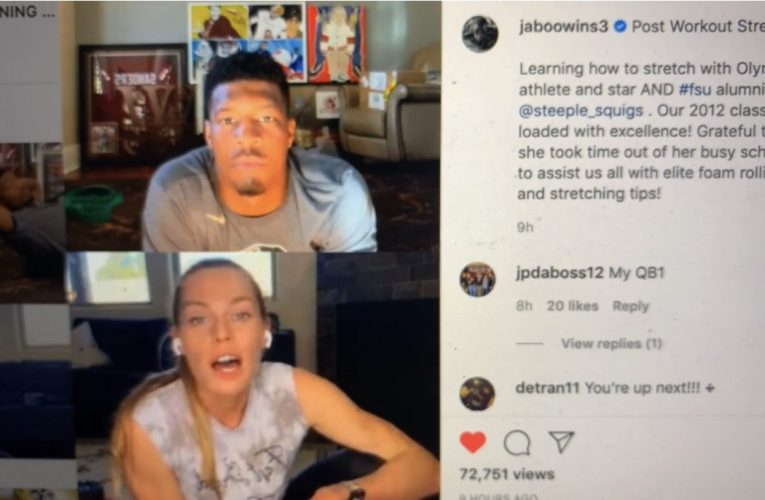 Jameis Winston Training Under Steeplechaser Colleen Quigley For Instagram Stretching For Mobility