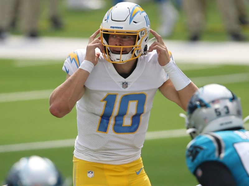 Justin Herbert: Los Angeles Chargers Quarterback Is 2020 NFL Rookie of the Year