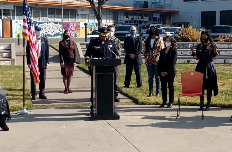 New Oakland Police Chief, LeRonne Armstrong, Speech At Swearing In Ceremony At McClymond HS