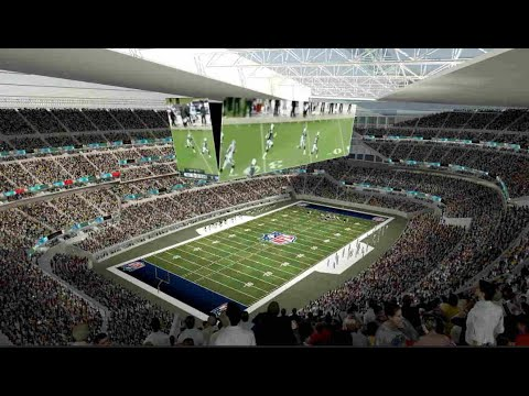 Super Bowl LV: Oakland African American Investment Group NFL Stadium Concept The Weeknd Would Love
