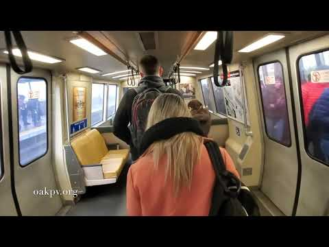 The Sounds Of BART, Riding The Bay Area Rapid Transit System In The Year 2020