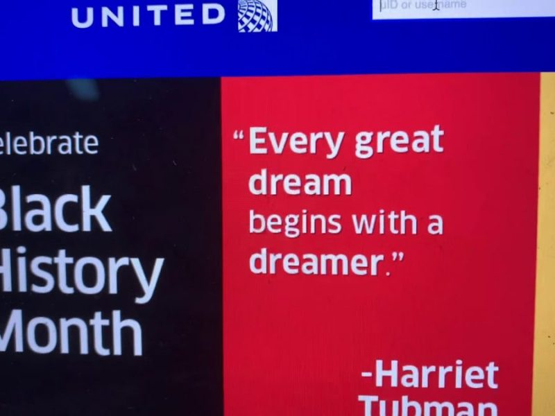 United Airlines Celebrates Black History Month Via Its Website With Tubman, Jamison, Dr. King