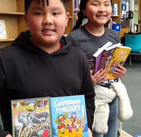OUSD students love to read.