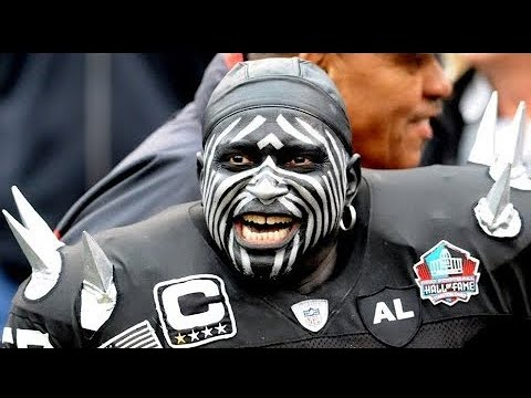Violator! Wayne Mabry The Oakland Raiders Las Vegas Super Fan Is In NFL Hall Of Fame