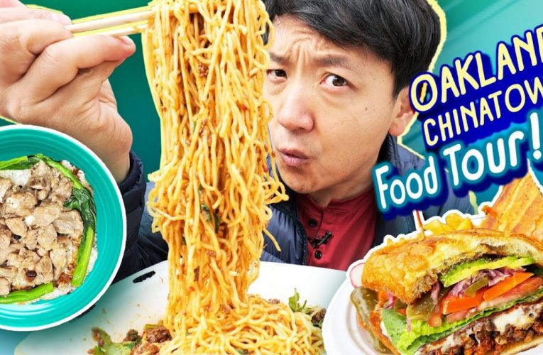 OAKLAND CHINATOWN Food Tour! VIETNAMESE NOODLES & Must Try TACOS