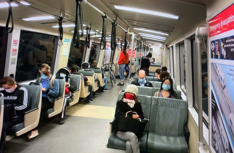 SF BART Gets More Riders As Oakland And SF Bay Area Slowly Return To Post-Pandemic Normal