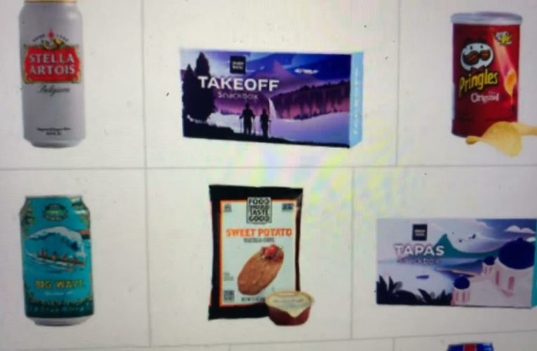 United Airlines Buy On Board Snacks Are Back On United Fights With Revamped Menu April 1 2021