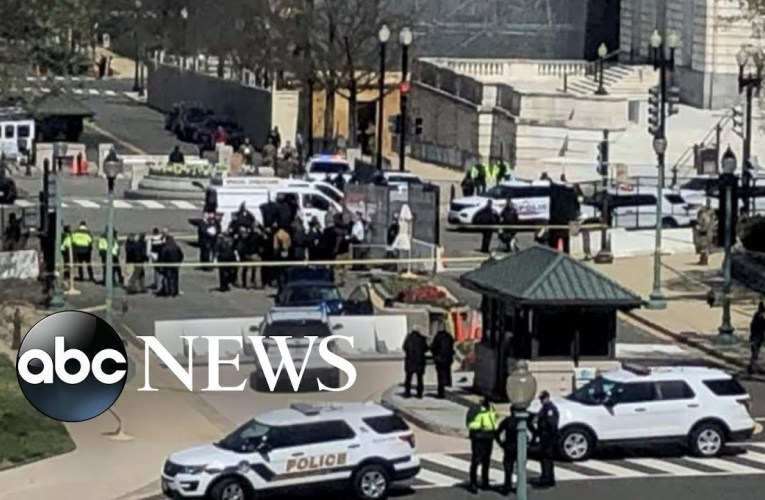US Capitol On Lockdown After 2 Capitol Police Officers Injured, One Dead