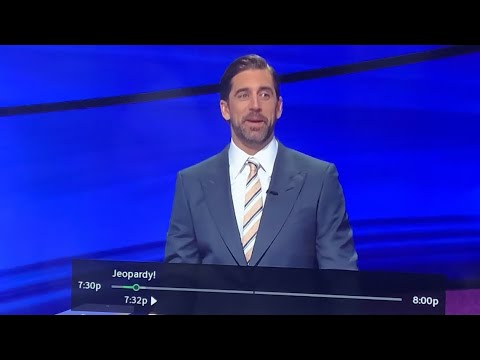Aaron Rogers Killing It As Jeopardy Guest Host And Now Knows What A Sack-Butt Is