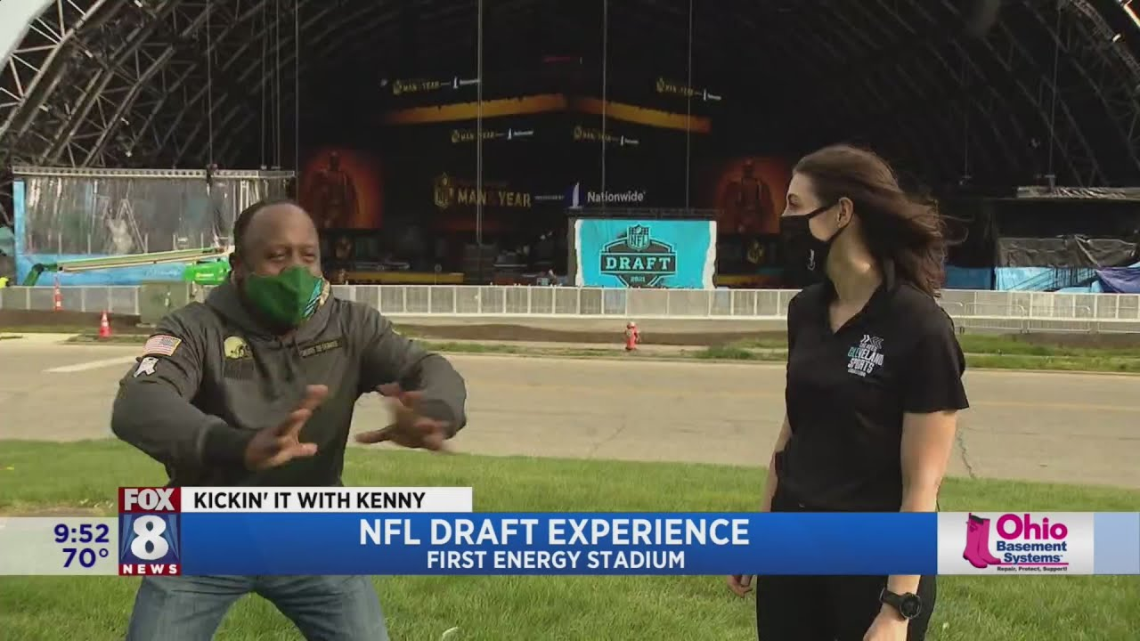 Kenny thinks he's ready for the NFL Draft Experience – what do you think?