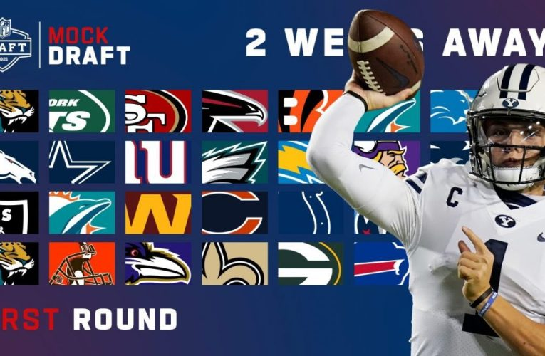 Mock Draft Live Two Weeks Away From The 2021 NFL Draft