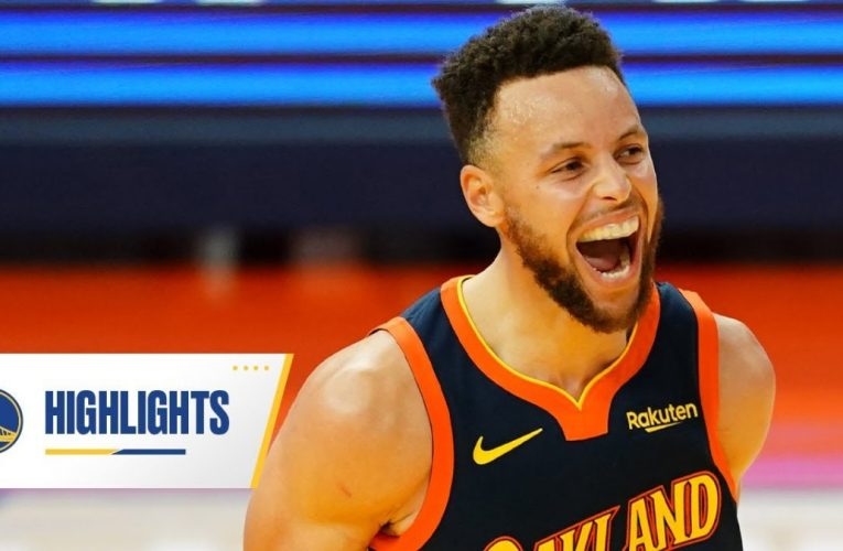Stephen Curry Drops 30+ Points For Career-Best Sixth Straight Game | vs. Rockets – April 10, 2021