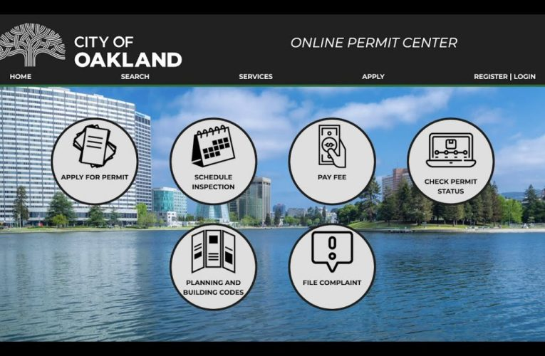 TUTORIAL: Register for Oakland's Online Permit Portal!