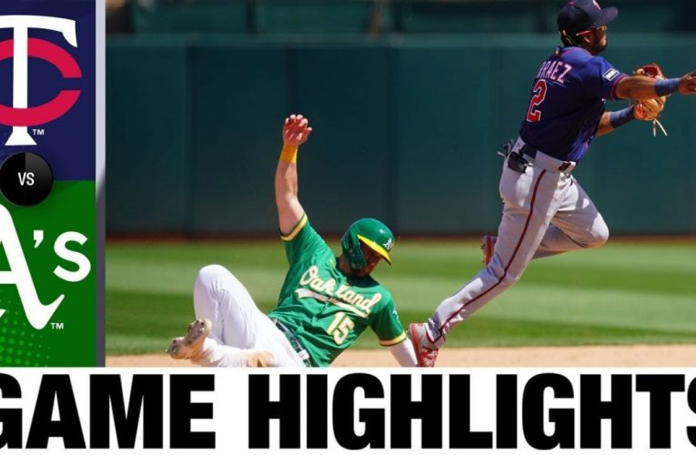 Twins vs. A's Game Highlights (4/21/21) | MLB Highlights