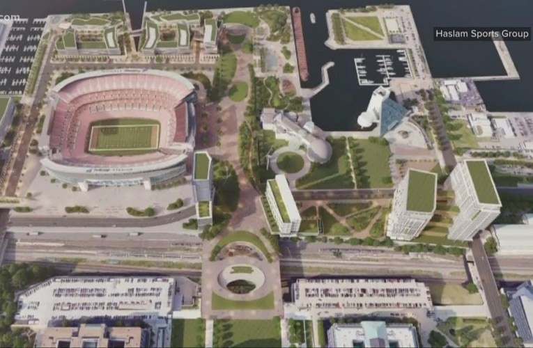 Browns owners unveil new proposal for Cleveland lakefront