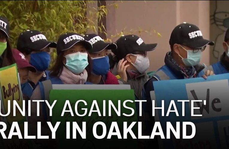 Community Holds 'Unity Against Hate' Rally in Oakland