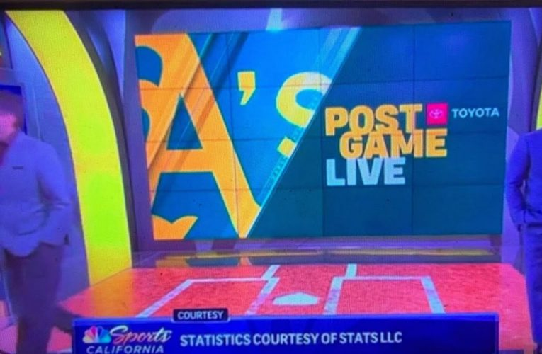 Oakland A's Broadcasters Walk Off Set In Reaction To Dave Kavel's Las Vegas Tweet