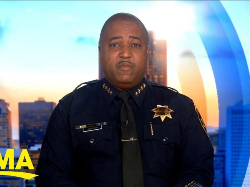 Oakland Police Chief LeRonne Armstrong Addresses Spike In Violent Crime
