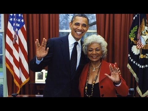 Star Trek's Lt. Uhura Nichelle Nichols On Meeting President Obama