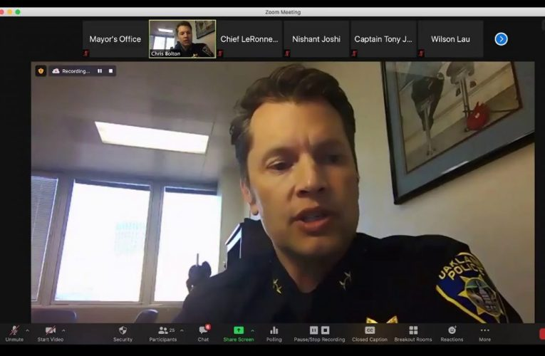 Oakland Police Town Hall On Data Collection And Use To Fight Crime