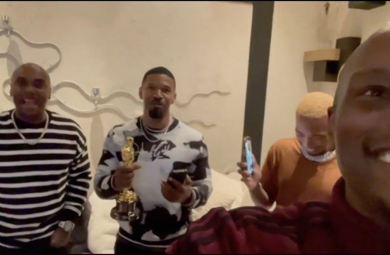 🔥🏆 Tyrese & Jamie Foxx CELEBRATE OSCAR WIN over Pixar SOUL Movie (BLACK KINGS)