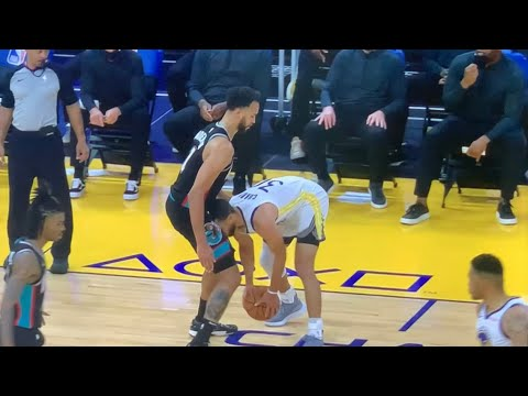Warriors Steph Curry Highlights: Uses His Head In An Unusual Way To Score On Grizzlies Kyle Anderson