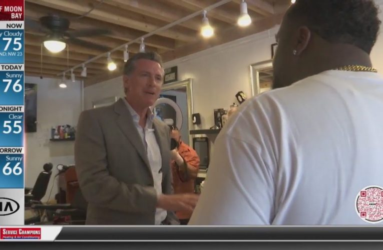 Governor Newsom visits small businesses in Oakland