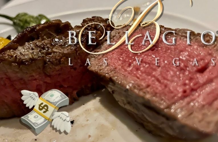 I Ate the Most EXPENSIVE Steak at the Bellagio Las Vegas Steakhouse