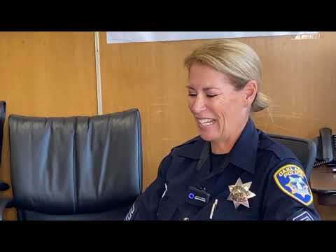 Oakland Police Video Features Sgt Doria Neff Of The Mental Health Unit In Video Interview